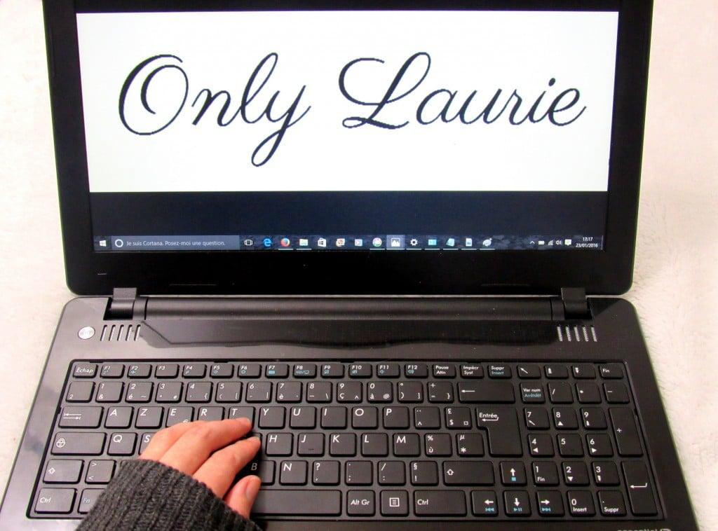 nouveau blog only laurie