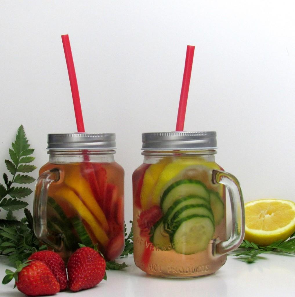 detox water fraise citron concombre
