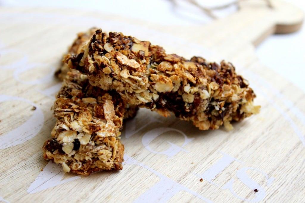 barres de céréales healthy pour des encas sains.