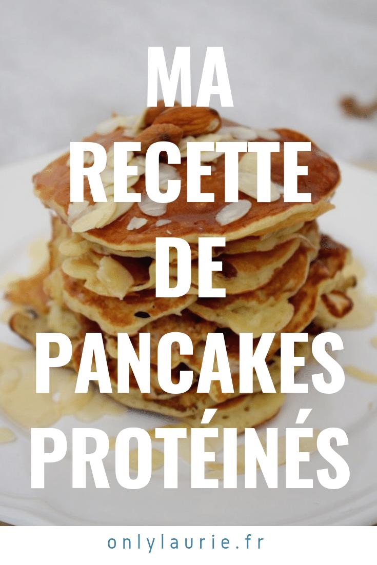 pancakes protéinés only laurie