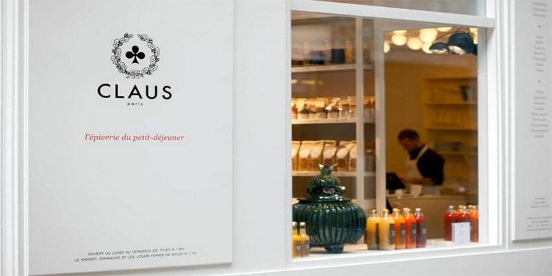 Claus, un des meilleurs endroits pour bruncher à Paris.