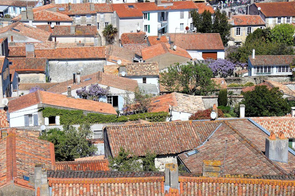 Les jolies maisons de l'île de Ré.