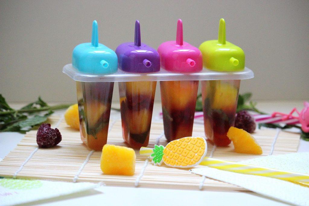 Recette de glaces maison aux fruits. Une recette healthy parfaite pour l'été. Facile à faire sans sorbetière.