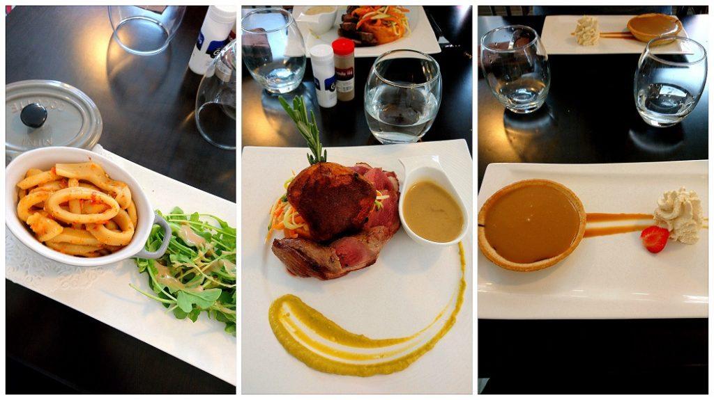 Restaurant familiale La Falaise à Yport. Une cuisine de qualité avec des produits frais à des prix très abordables.