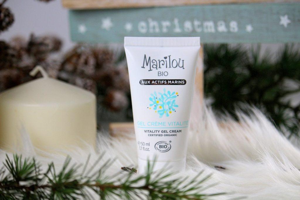 Gel crème vitalité bio pour peaux mixtes de la gamme marine de chez Marilou bio. Un produit naturel à petits prix.