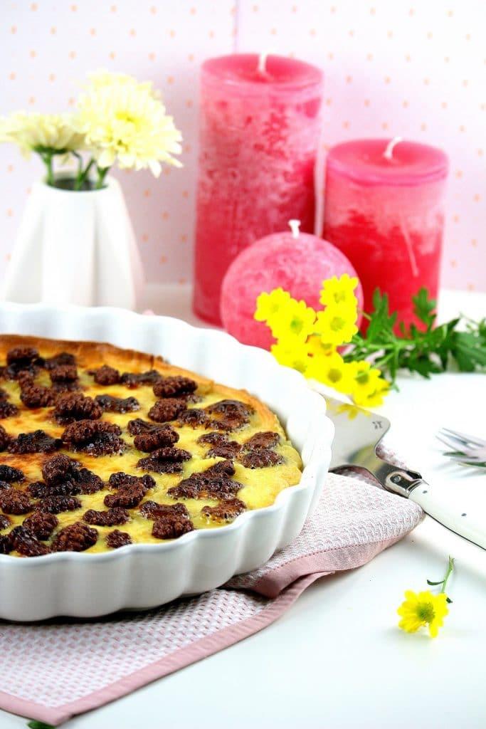 recette tarte sucré - only laurie
