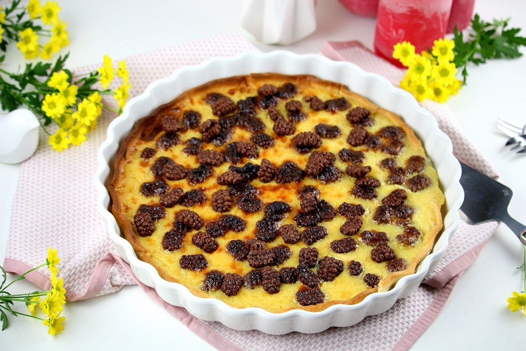 tarte chocolat blanc crunchy - only laurie