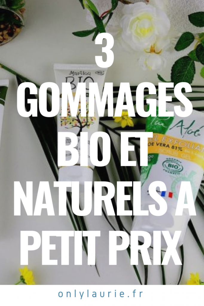 Gommages bio et naturels à petit prix. Avec des compositions clean à moins de 10€. Pour tous les types de peaux.