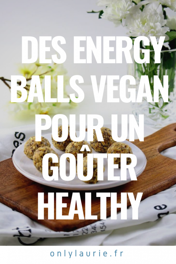 Recette d'energy balls amande et cajou pour un goûter healthy.