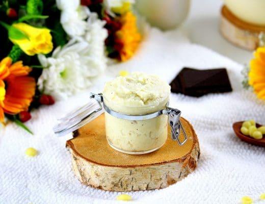 beurre pour le corps fait maison - only laurie