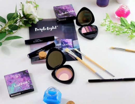 La collection Purple Light de Dr Hauschka only laurie
