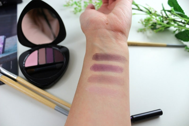palette purple light dr hauschka only laurie