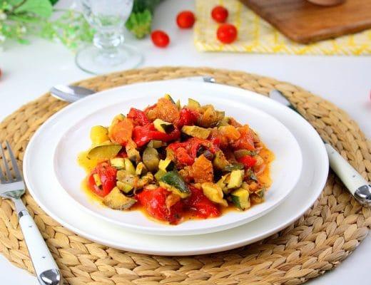 Ma ratatouille healthy aux légumes d'été only laurie
