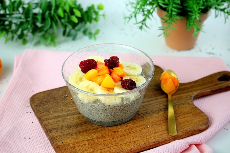 pudding de chia only laurie