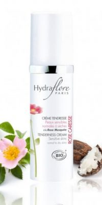creme-tendresse-bio-rose-caresse-hydraflore only laurie