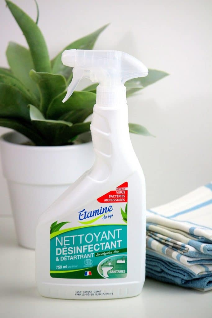 Nettoyant et désinfectant bio de la marque Etamine.