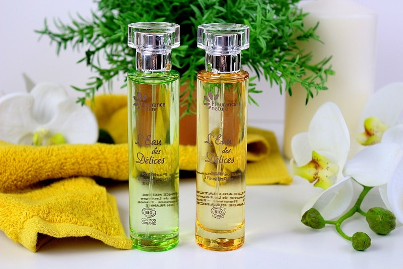 parfum l'eau des délices fleurance Nature only laurie