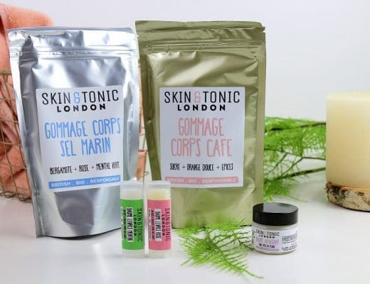 Je teste les produits Skin & Tonic London only laurie
