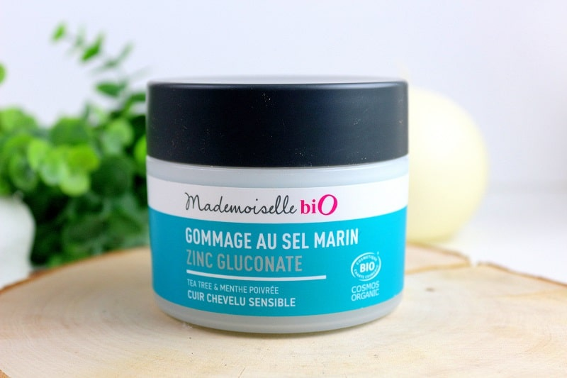 gommage cheveux mademoiselle bio only laurie