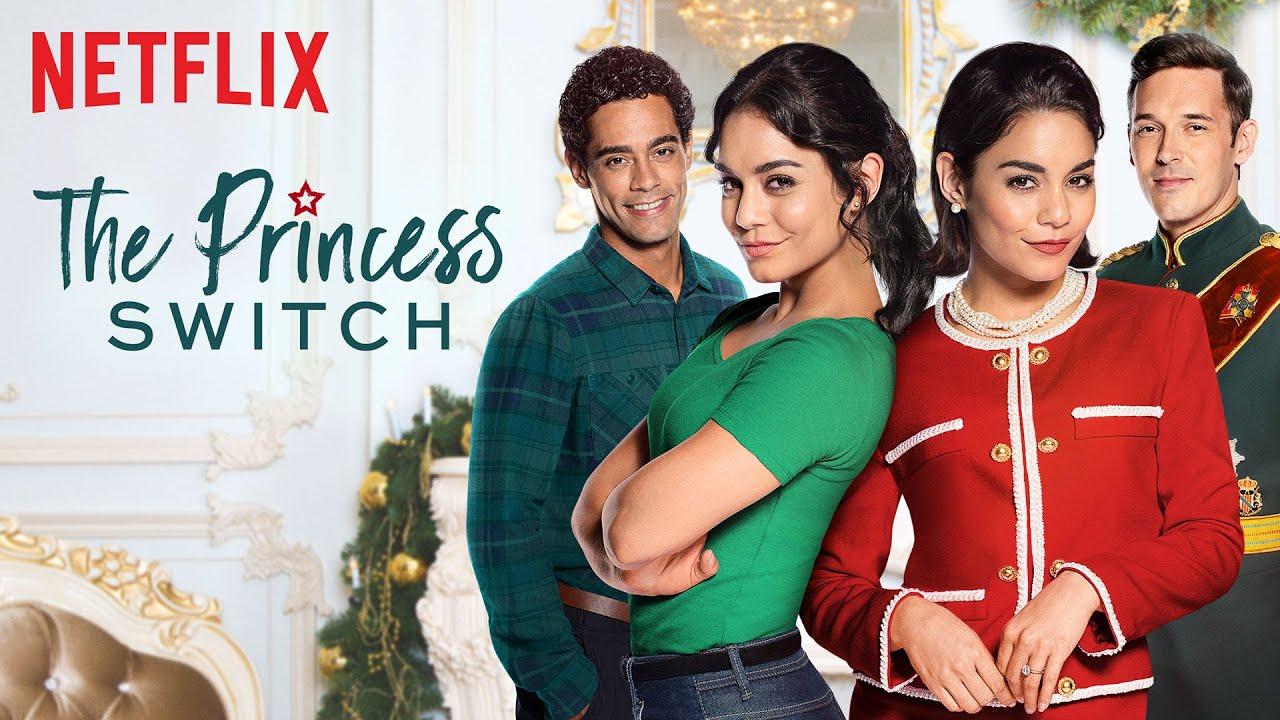 La princesse de chicago, film de Noël disponible sur Netflix.