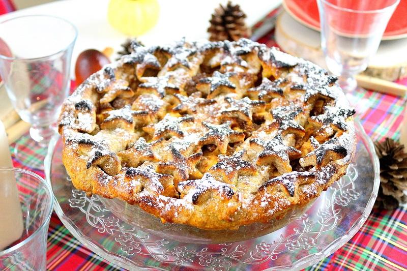 Recette de la véritable apple pie maison pour Thanksgiving.