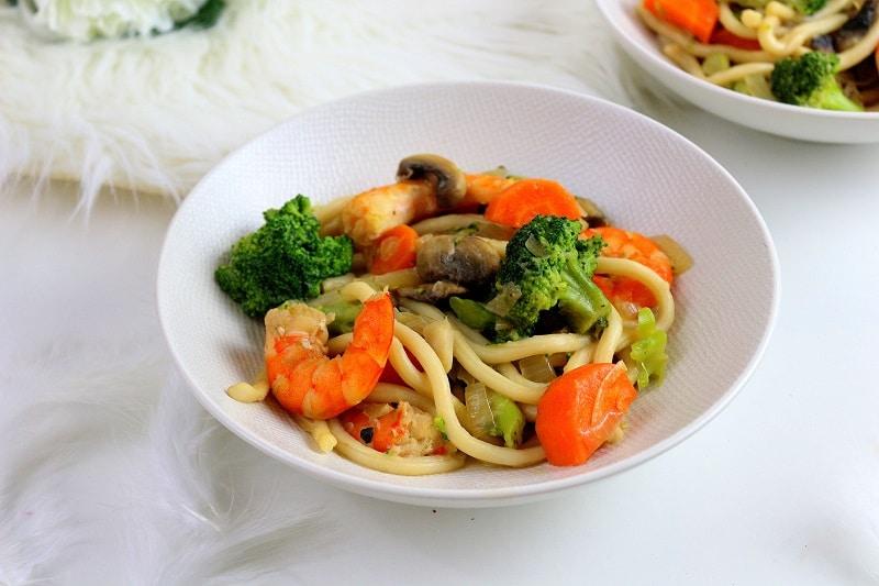recette nouilles chinoise sautées only laurie