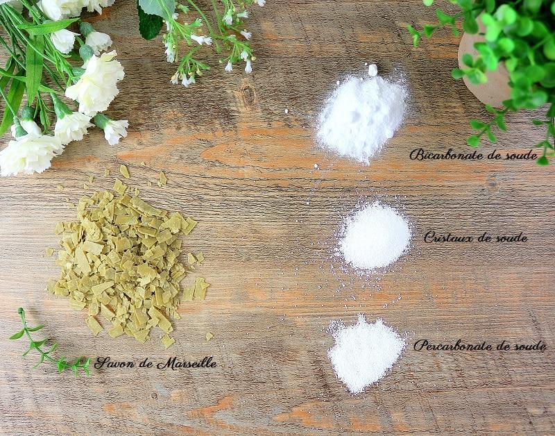 Ingrédients pour faire sa lessive maison. Une recette écologique et rapide.