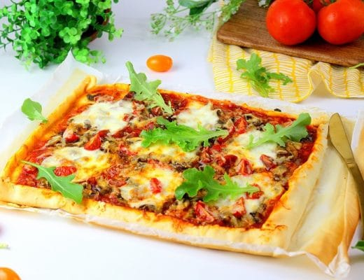 pizza tomates champignons mozzarella only laurie