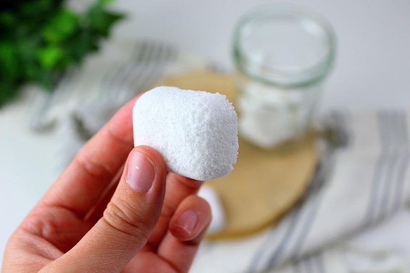 Comment faire ses pastilles pour lave vaisselle. La recette maison, zéro déchet.