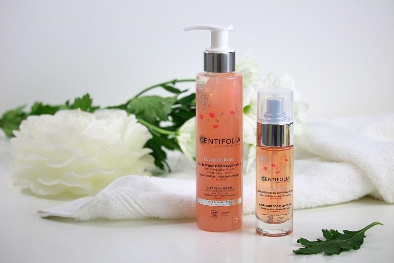 Mon avis sur la gamme éclat de rose de chez Centifolia. Des cosmétiques bio pour les peaux sensibles.