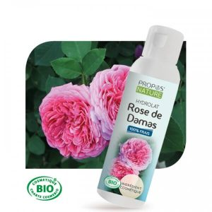 hydrolat de rose damas