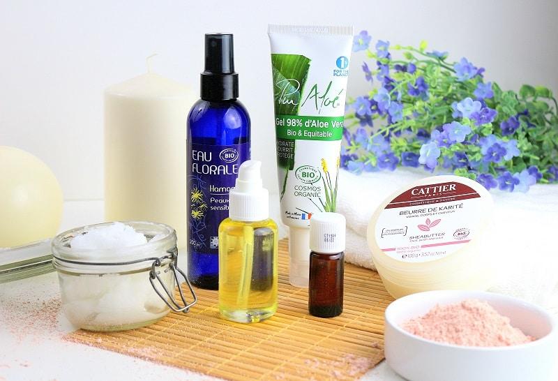 6 cosmétiques bio indispensable dans ma salle de bain pour une routine beauté naturelle.