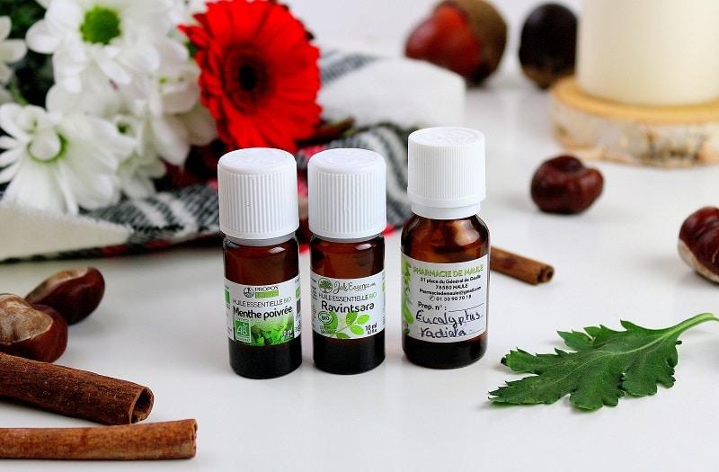 3 huiles essentielles pour soulager le rhume naturellement.