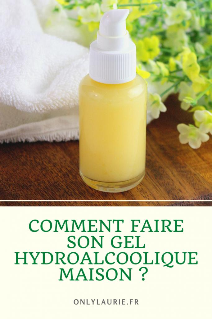 La recette pour savoir comment faire son gel hydroalcoolique maison et naturel.