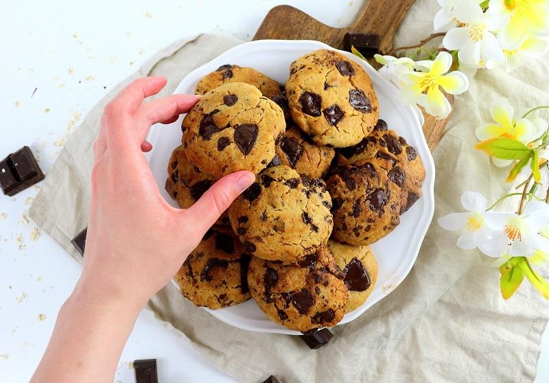 Comment faire des cookies vegan. Une recette gourmande parfaite pour le goûter.