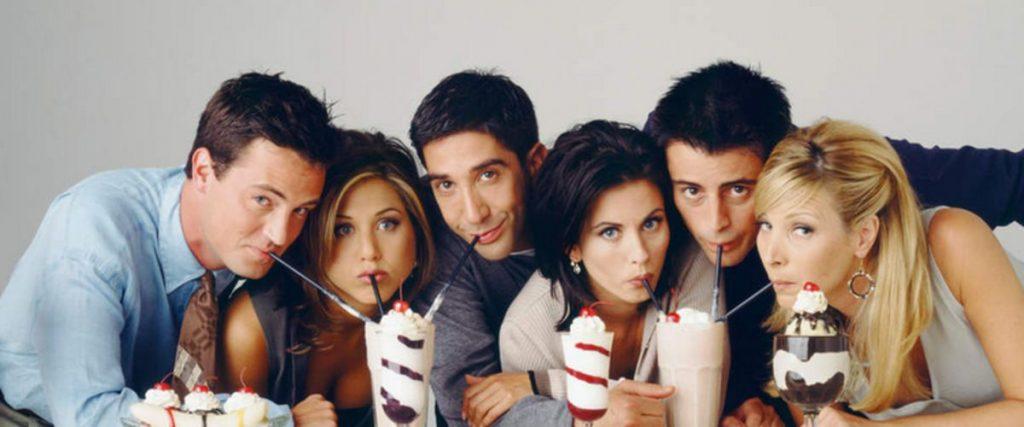 Friends la série et les acteurs. Série familiale à regarder sur Netflix.