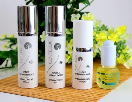 Mon avis sur la gamme hydratation + de chez Centella. Une routine avec 4 produits bio de haute qualité pour retrouver une peau hydratée et repulpée. Des produits parfaits pour les peaux sèches, sensibles et normales.