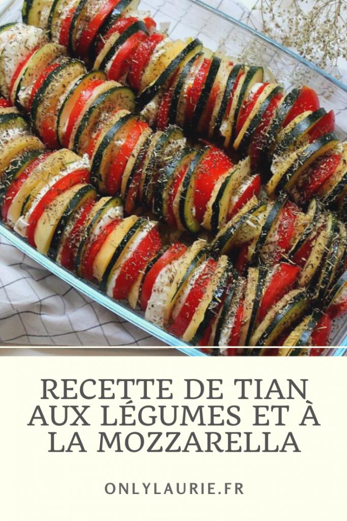 Le tian un plat idéal pour accompagner vos barbecues. Tomates, courgettes, pomme de terre et mozzarella. Recette d'été pour toute la famille.