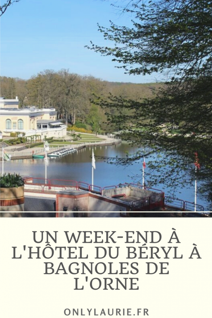 Dans cet article, je vous partage mon week-end détente à l'hôtel du Béryl sitié à Bagnoles de l'orne en Normandie. Un hôtel spa parfait pour relaxer, avec un restaurant délicieux et une superbe vue sur le lac et le casino. Parfait pour un week-end ressourçant en Normandie.