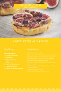 Fiche recette pour réaliser des tartelettes aux facile. Un dessert facile et rapide à faire.