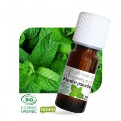 huile essentielle de menthe poivrée pour soulager les jambes lourdes.