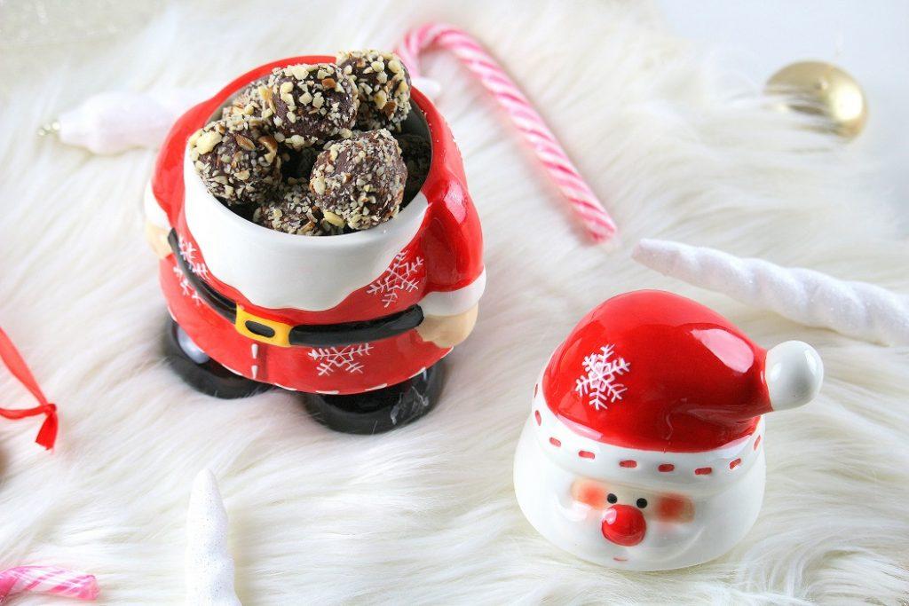Recette de truffes au chocolat facile à faire.