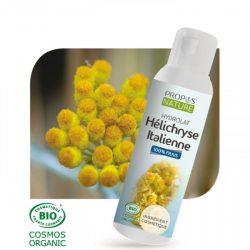 hydrolat d'hélichryse italienne pour soulager les jambes lourdes.