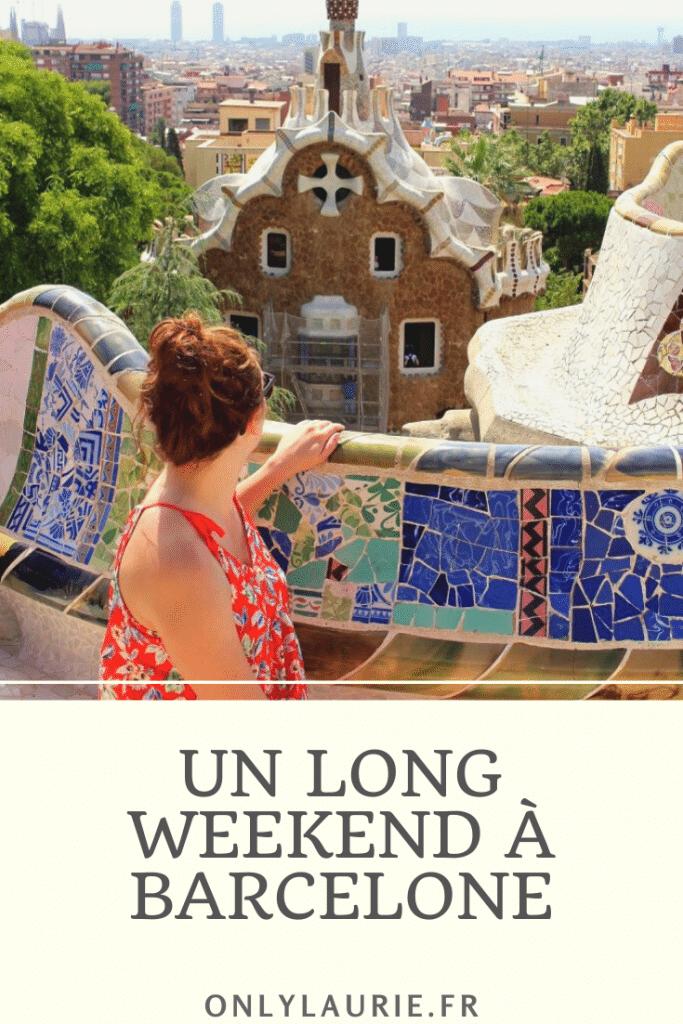 Partez pour un long week-end à Barcelone. Tous les incontournables de la ville à petit prix. Idéal pour profiter de la ville et de la plage en même temps.
