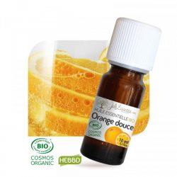 Huile essentielle orange douce bio de chez Joliessence