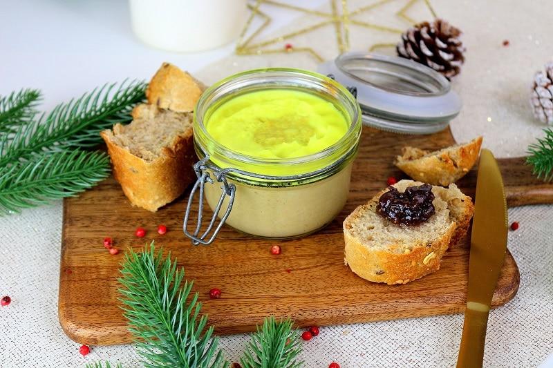 Recette de faux gras végétal. Une recette respectueuse des animaux, facile à faire et délicieuse. Parfaite pour remplacer le foie gras.