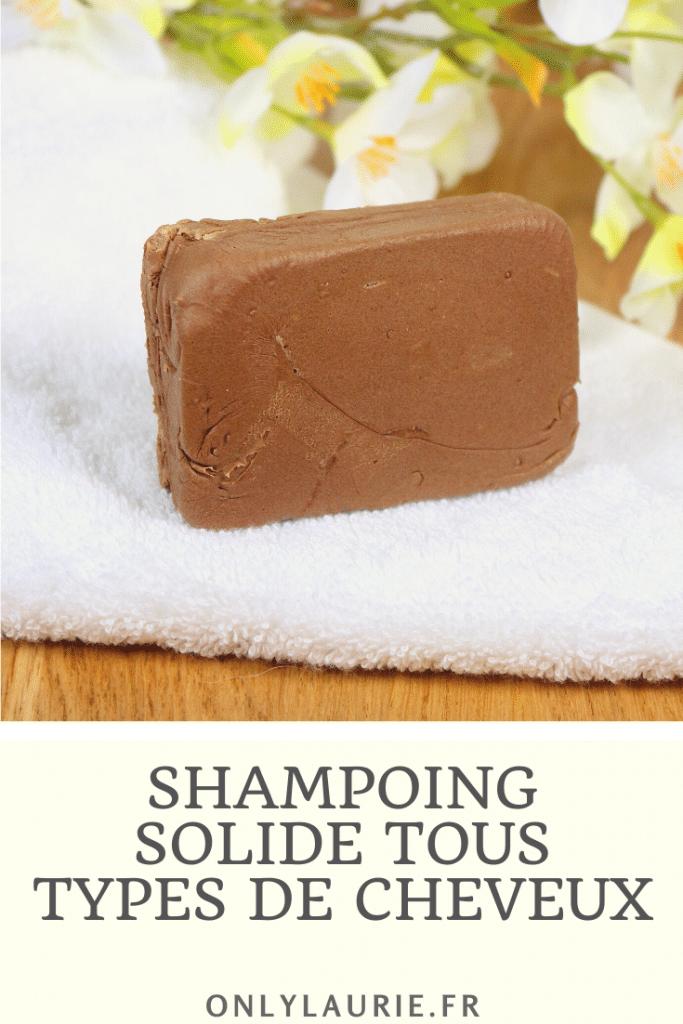 DIY maison pour faire un shampoing solide idéal pour tous types de cheveux. Il hydrate, nourrit, rends les cheveux plus souples et brillants. Une recette zéro déchet facile à faire.