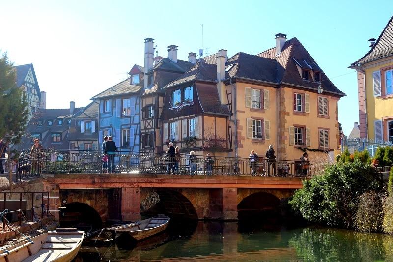 Colmar, très jolies villes des Vosges.