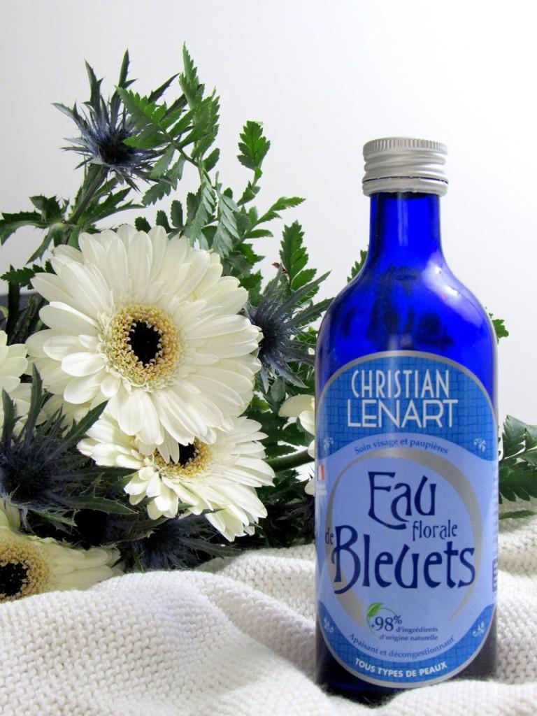 eau florale bleuet christian lenart