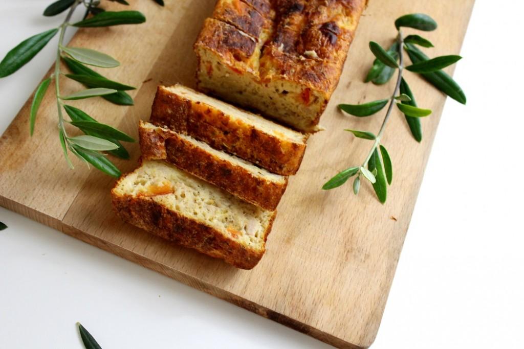 recette de cake au thon healthy et facile à faire.